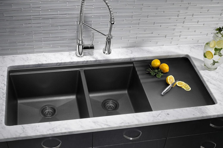 a blanco silgranit sink