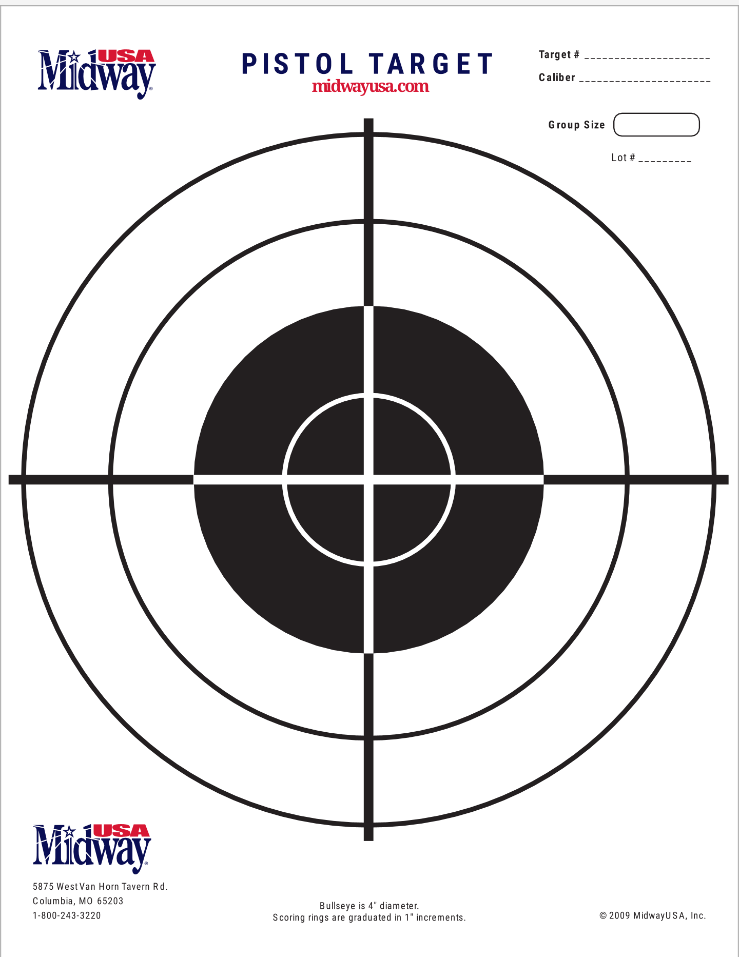 It is a picture of Nra B-8 Target Printable throughout fast