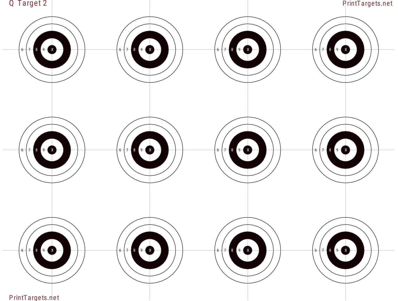 Printable Target Collection
