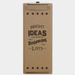 Long clip pad-Bright ideas
