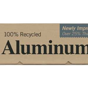 100% recycled aluminium foil by If You Care