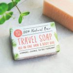Qbamboo top tips on travelling sustainably. Travel soap - vegan shampoo and soap