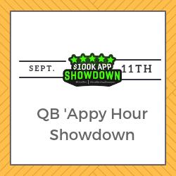 QB 'Appy Hour Showdown