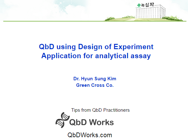 QbD Case Study for Analytical Assay: Screening DOE