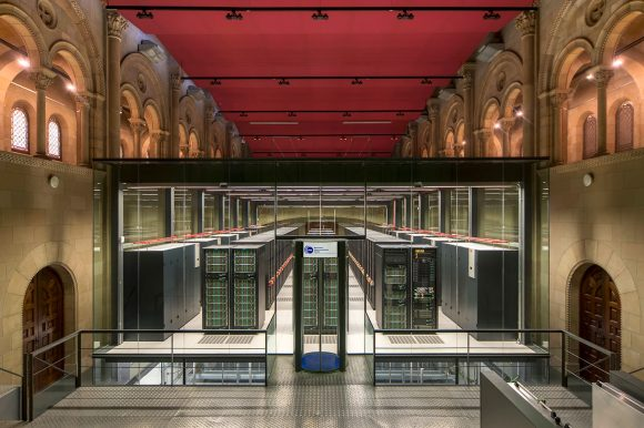 The MareNostrum IV from the Barcelona Supercomputing Center