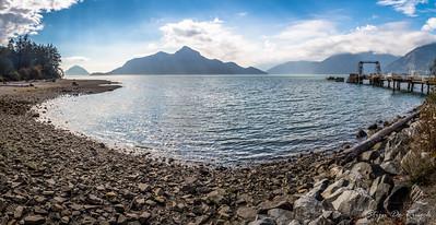 Howe Sound and Porteau Cove Provincial Park, British Columbia