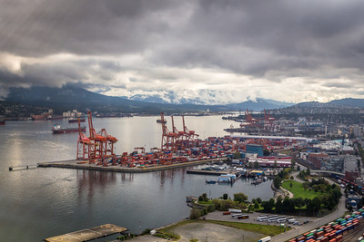 View from the Vancouver Lookout Tower