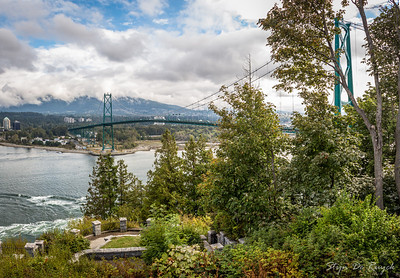 View from Prospect Point, Stanley Park, Vancouver