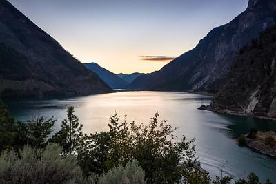 Seton Lake near Lillooet, British Columbia