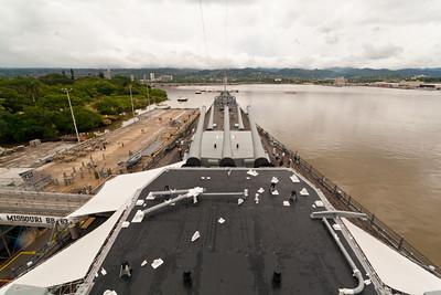 USS Missouri & USS Arizona memorial, Pearl Harbor