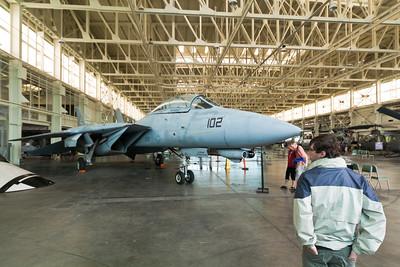Grumman F-14D Tomcat, Pacific Aviation Museum, Pearl Harbor