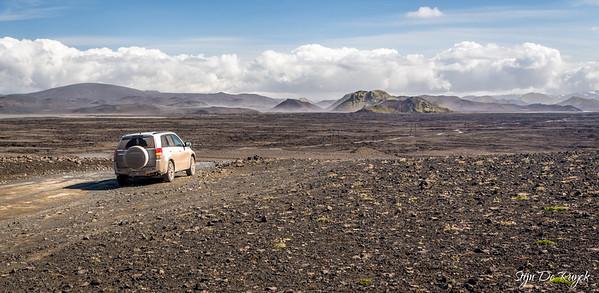 F208 to Landmannalaugar, Icelandic Highlands