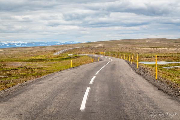 Crossing the Steingrimsfjardarheidi, Westfjords