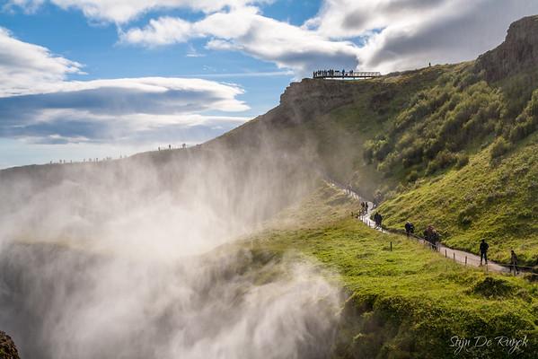Gullfoss, Southwest Iceland