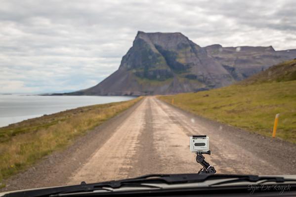 Route 643 along Húnaflói Bay, Westfjords