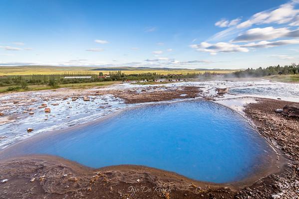 Blesi hot spring, Southwest Iceland