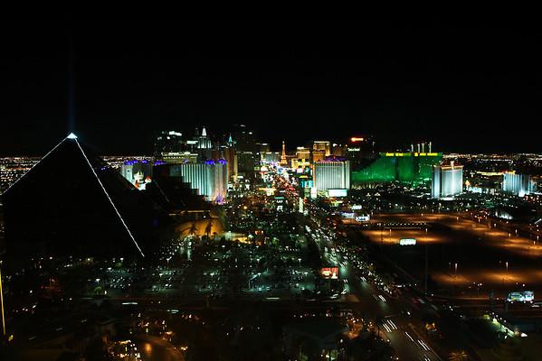 Las Vegas - Mandalay Bay 1500 X2 suite - strip view