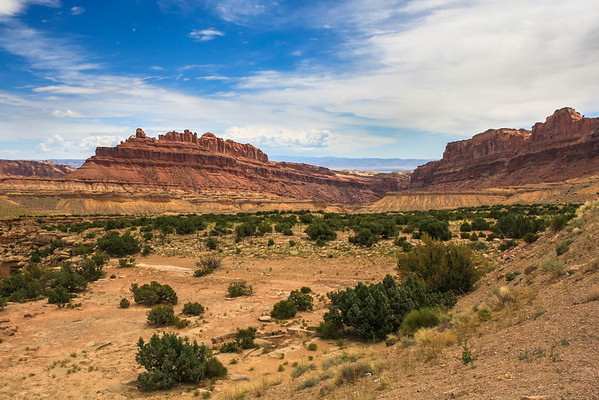 San Rafael Swell along the I-70