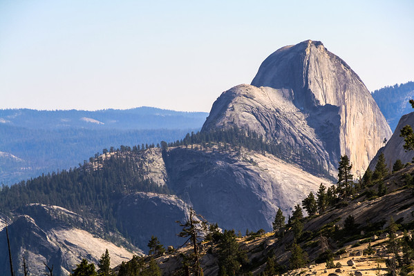 Half Dome from Olmsted Point, Yosemite National Park