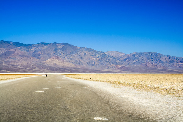 85.5m below sea level, Badwater Basin, Death Valley National Park