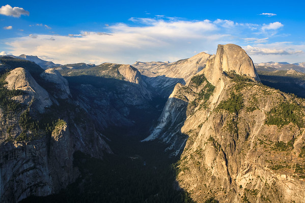 Yosemite Valley & Half Dome from Glacier Point, Yosemite National Park