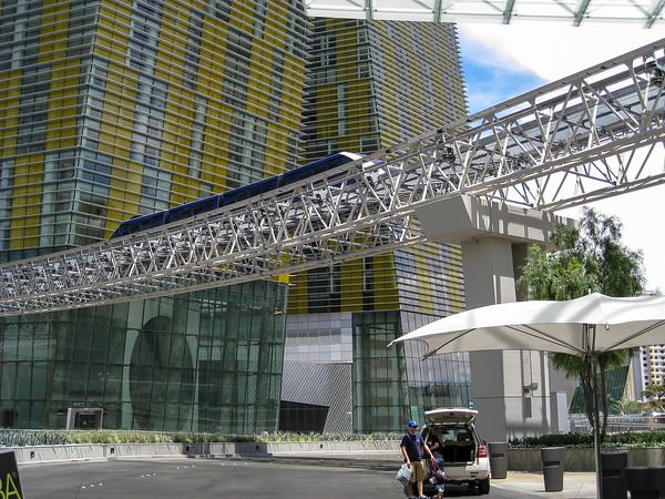 Aria Monorail, Las Vegas
