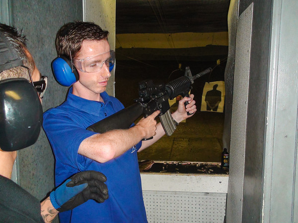 M16 Assault Rifle at The Gun Store, Las Vegas