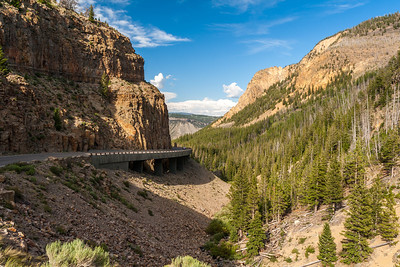 Golden Gate Canyon, Yellowstone National Park, Wyoming
