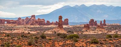 Arches National Park & La Sal Mountains, Utah