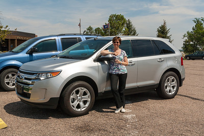 Our Ford Edge SUV.