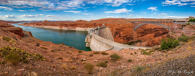 Lake Powell & Glen Canyon Dam, Arizona