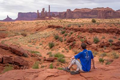 Yei Bi Chei & Totem Pole, Monument Valley, Arizona