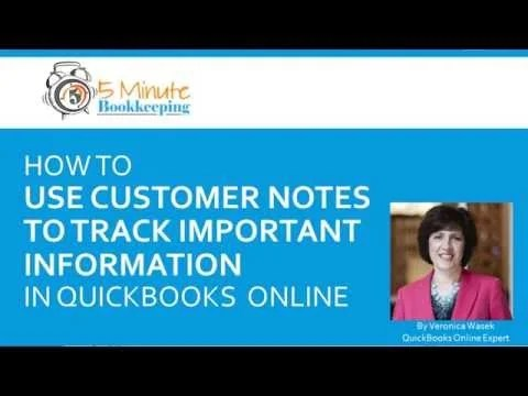 Video: How to use customer notes to track important information