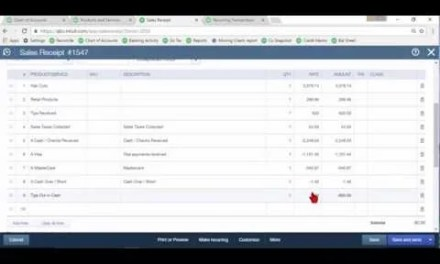 Video: Daily Sales Summary in QuickBooks Online