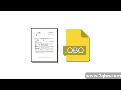 Video: Convert or Import PDF Bank Statements