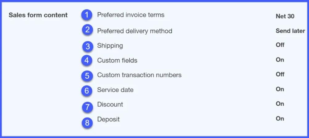 How To Set Up Invoices Sales Receipts Estimates In Quickbooks - Quickbooks online invoice deposit
