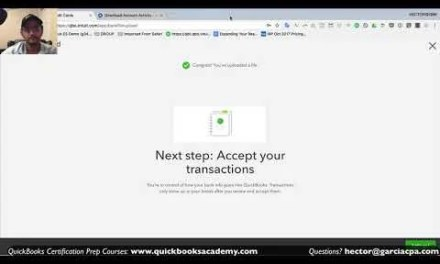 Video: QuickBooks Online 2018 Tutorial: Online Banking