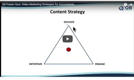 QB Power Hour: Video Marketing Strategies for Accountants