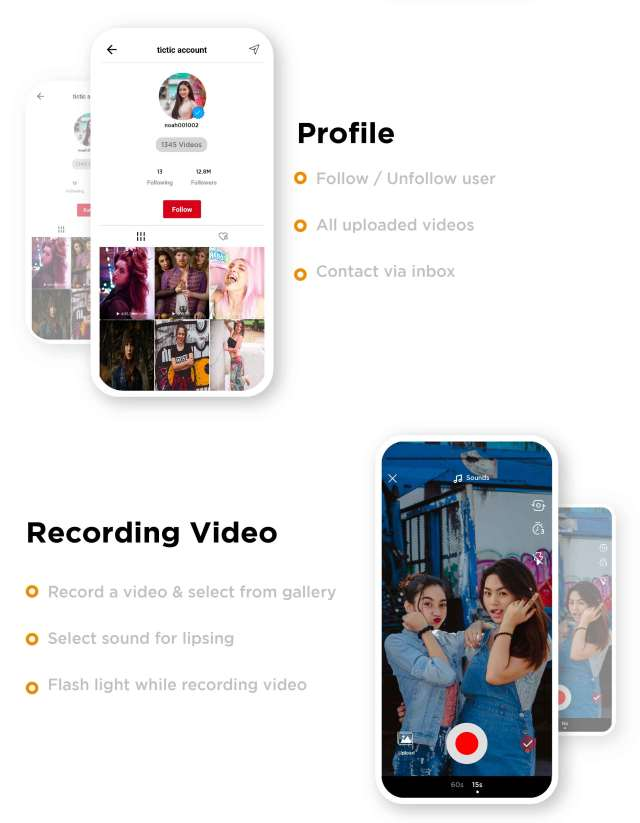 TicTic - Android media app for creating and sharing short videos - 8