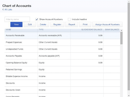 Setup a Chart of Accounts in QuickBooks [Step-by-Step Guide]