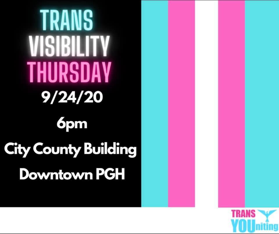 Trans Visibility Thursdays