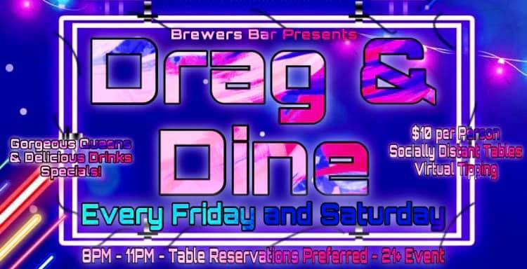 Brewers Drag & Dine – March