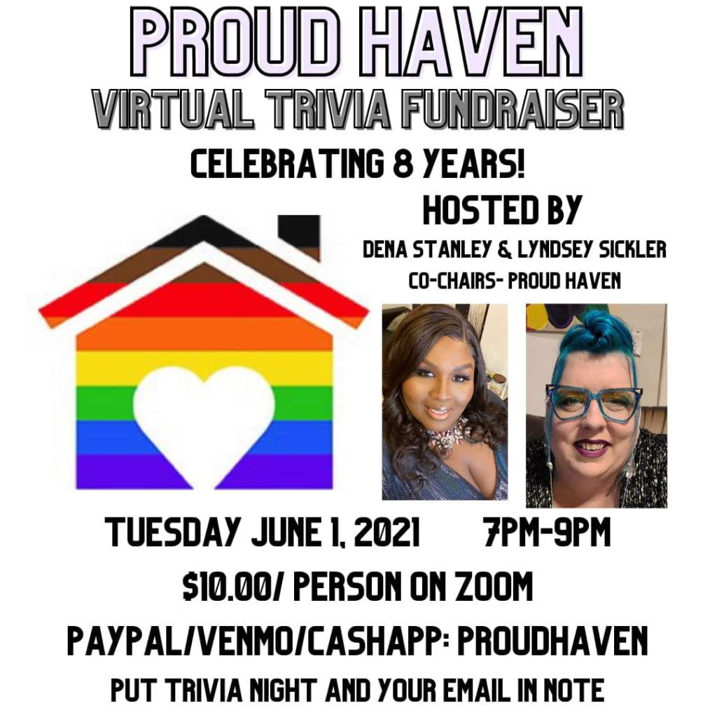 Proud Haven Virtual Trivia Fundraiser