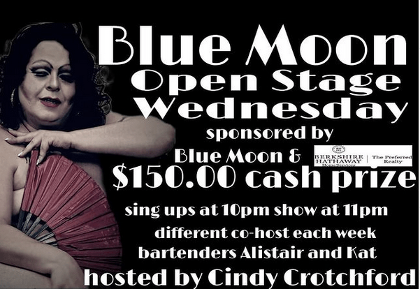 Blue Moon Open Stage Wednesday