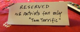 From a Patriots/Tom Brady fan... / QC APPROVED.