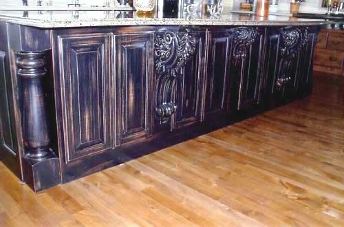 Cabinet maker in Topeka Kansas kitchen cabinet remodeling