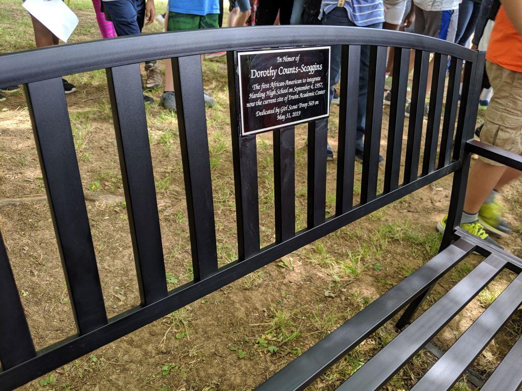Dot-Counts-Scoggins-bench-plaque