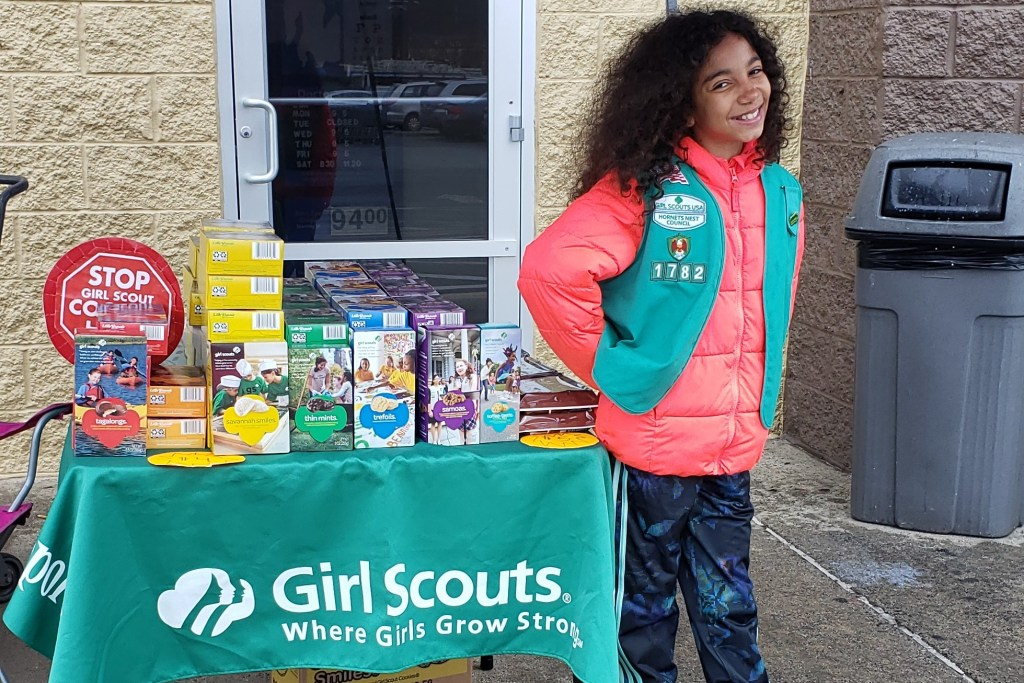 Cookie Hustle: Local Girl Scout sold 4,203 Girl Scout