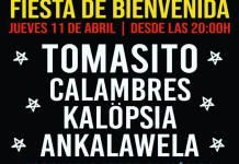 Fiesta presentación Primavera Trompetera