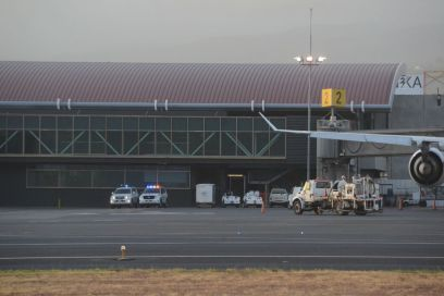 San Jose airport was closed after 4:00pm Thursday and remained closed until 8:00am Friday, due to the presence of ash from the Turrialba volcano eruption Thursday afternoon